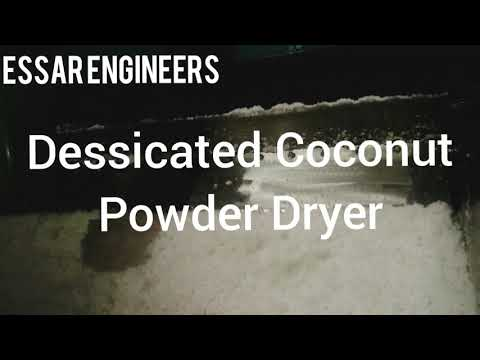 Coconut Powder Dryer