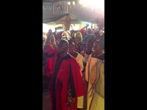 CCC of God int'l, Mass choir process into the house of God