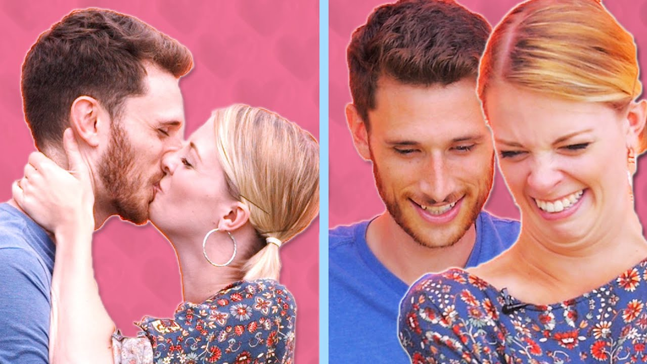 Couples Watch Themselves Kiss In Slow Motion thumbnail