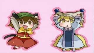 Chen  - (Touhou Project) - Touhou - Nya Chen, Ran, & Yukari!! (」・ω・)」うー!(/・ω・)/にゃー! {1080p}