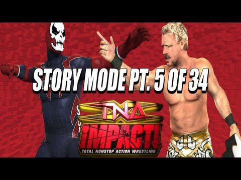 TNA iMPACT! (Video Game) PS2 Storymode Part 5 of 34