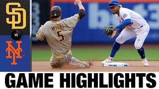 مباراة بادريس ضد ميتس (21/6/6)   يسلط الضوء على MLB