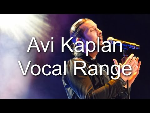 Avi Kaplan - Vocal Range (D1-C♯5) (By Axel Fuentes)