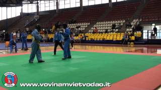 preview picture of video 'Vovinam Viet Vo Dao Fight - Gabriele Rivolta vs Daniele Marinig'
