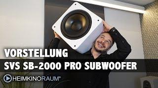 SVS SB-2000 Pro Subwoofer Vorstellung. Kompakt und kraftvoll, ideal für Wohnzimmer! Unser Testsieger