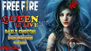Free Fire Live Rank Gameplay || Free Fire Subscriber Game || QUEEN Live Gaming#5 - Download this Video in MP3, M4A, WEBM, MP4, 3GP