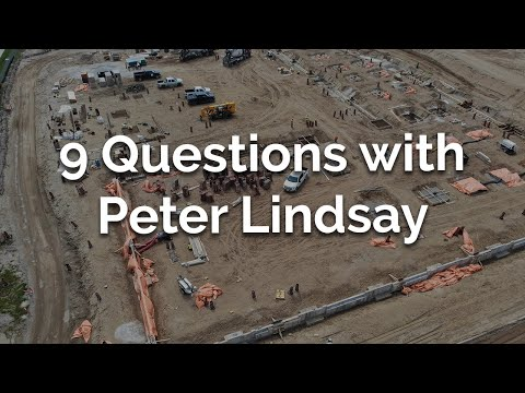9 Questions with Peter Lindsay | Maintenance Building Foundations