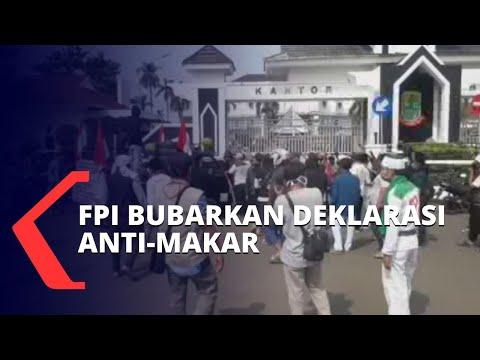 ricuh fpi bubarkan deklarasi anti-makar yang dinilai sudutkan habib rizieq