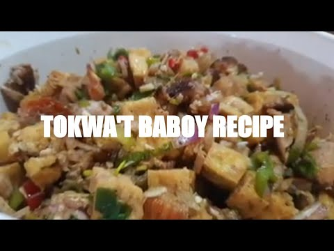 Tokwa't Baboy Recipe(Pork and Tofu)Paano Gawin? How to Cook/ Easy Guide Recipe  Divine Abonales Vlog