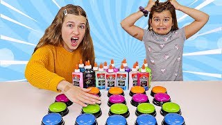 Extreme Don't Push the Wrong Button Slime Challenge! | JKrew