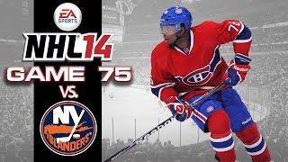 Let's Play NHL 14 - Game 75 vs New York Islanders