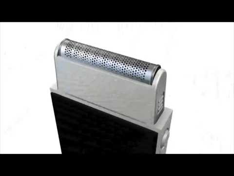 Il rasoio portatile con presa USB