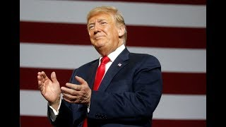 WATCH: President Donald Trump Holds A Campaign Rally In Houston