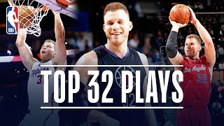 Blake Griffin's Top 32 Plays With The LA Clippers!