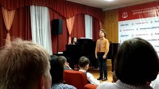 2018.03.13 ОХОТНИЧЬЯ ШУТОЧНАЯ Вокальный концерт в музыкальной школе
