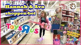 HANNAH SHOPPT IM TOYS R US 🛍 Was Kauft Eine 5 Jährige Im SPIELZEUGGESCHÄFT ? 🛍 Partnervideo Mit Ava