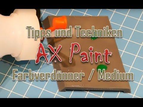 Farbverdünner / Medium selbst herstellen. Eine günstige Variante zu Lahmian Medium