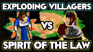 Exploding Villagers vs Spirit Of The Law!