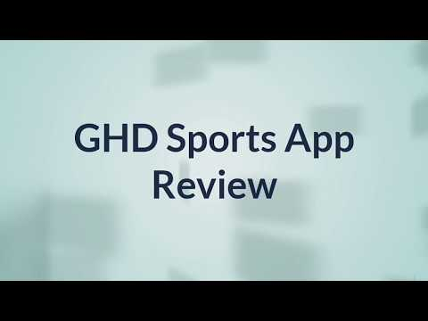 GHD Sports App Review