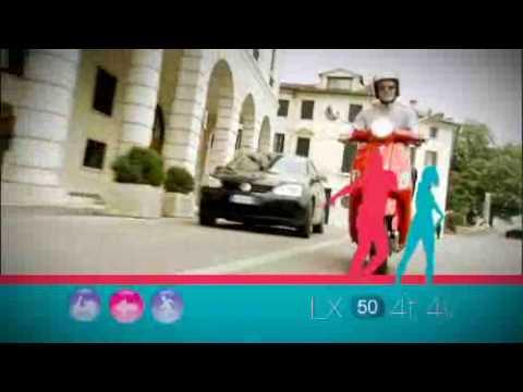 Vespa LX 50 & 125 Official Video