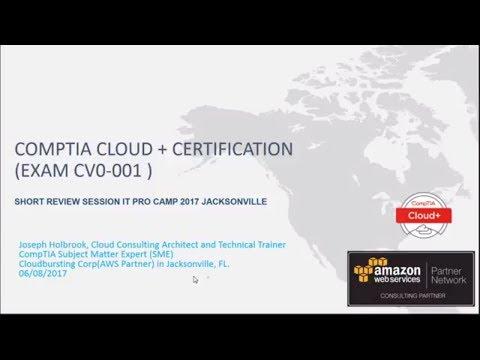 CompTIA Cloud Plus Certification Prep Session exam preparation ...
