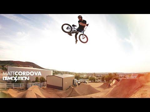 DEMOLITION BMX: Matt Cordova's MC Seat Video