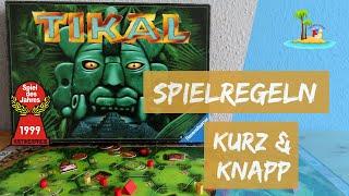 Tikal - Spielanleitung - Spiel des Jahres 1999