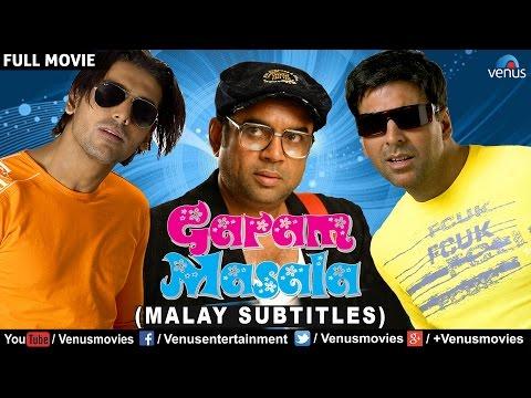 Garam Masala - Malay Subtitle | Bollywood Comedy Movies | Akshay Kumar Movies |Bollywood Full Movies