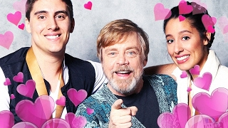 This Couple Got Engaged In Front of Luke Skywalker - Up At Noon Live!
