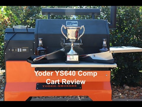 Yoder YS640 Comp Cart Review by Hector's Smoke House