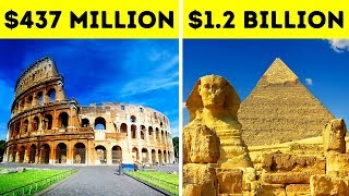 How Much It Would Cost to Build Famous Landmarks Today