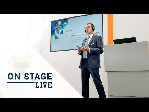 Video: On Stage LIVE - Peter Musters