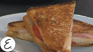 Late Night Ham and Cheese Grilled Sandwich - Emeril Lagasse