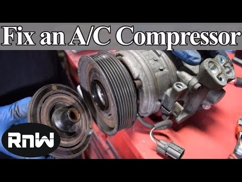 How To Diagnose And Replace An A/C Compressor Coil, Clutch And Bearing On Your Car Mp3