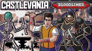 Castlevania: Bloodlines (Sega Genesis) Full Playthrough