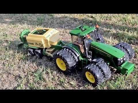 Bruder John Deere Traktor mit Zwillingsbereifung günstig kaufen Spielzeugautos & Zubehör