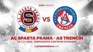 ASTV live: AC Sparta Praha - AS Trenčín - Prípravný zápas