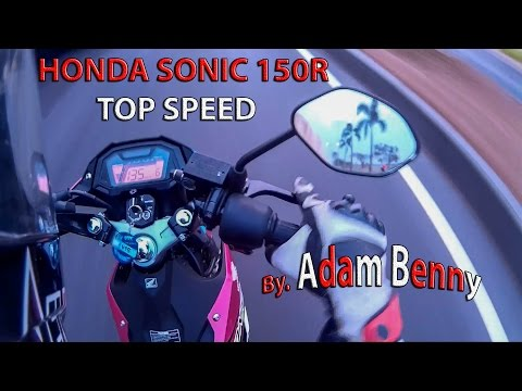 HOT! Honda Sonic 150R Top Speed! By. Adam Benny