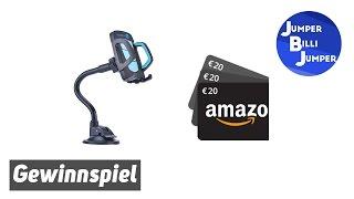 Gewinnspiel Amazon Gutschein und Muvercon Handyautohalterung
