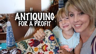 Shopping the Antique Store for Profit | Quest for the Perfect Lamps | Reselling