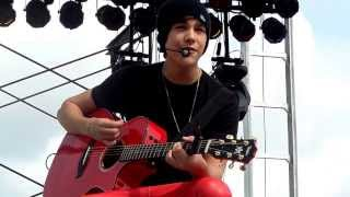 Austin Mahone - Let Me Love You (WI State Fair Preshow)