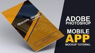 App design tutorial for beginners | Yellow Professional Mobile Splash screen design