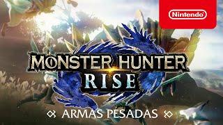 Nintendo MONSTER HUNTER RISE – Armas pesadas (Nintendo Switch) anuncio