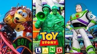 Top 10 New Toy Story Land Rides & Attractions! Disney World