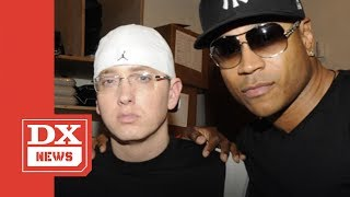 "Eminem Says He Almost ""Shit"" Himself The First Time He Met LL Cool J"
