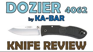 """Review of the Dozier 4062 by KA-BAR """"Best EDC for $20""""?"""
