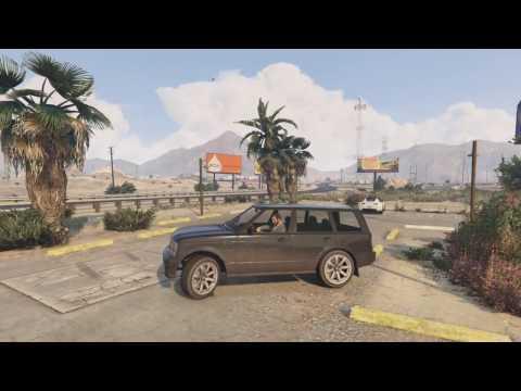 GTA5 - unique license plate/secret car (Madrazo Baller) - Grand Theft Auto V