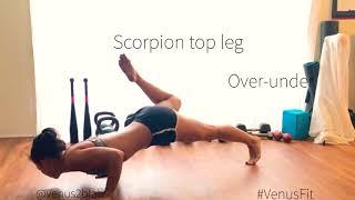 VenusFit : Low plank salsa / core workout