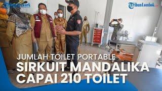 Wagub NTB Intip Medical Center Pembalap MotoGP hingga 210 Toilet Portable di Sirkuit Mandalika