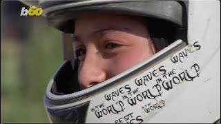 Teen Female Motocross Rider in Afghanistan Looks to Inspire Women to Pursue the Sport